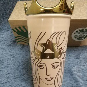 Starbucks Limited Edition Siren Mug with Crown